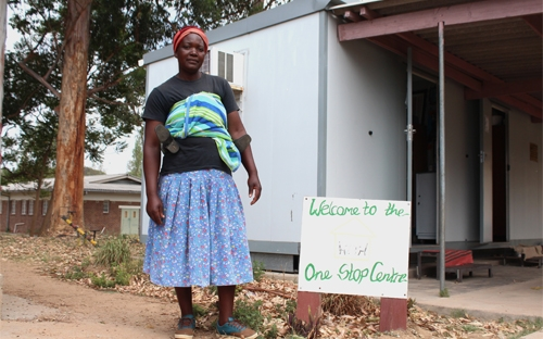 Mary was supported by ZWLA to get birth certificates for her 4 children