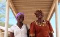 Dorcas Mpofu and Rosemary Masina at the one stop centre in Gwanda